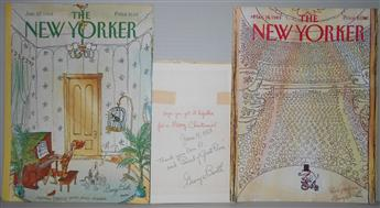 BOOTH, GEORGE. Group of 3 items Signed or Signed and Inscribed, to Don Richardson.