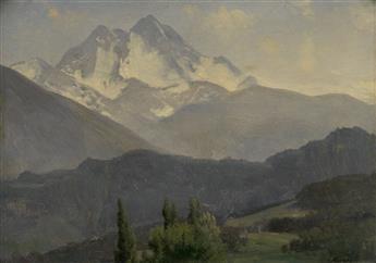 ALBERT BIERSTADT Rocky Mountain Landscape.