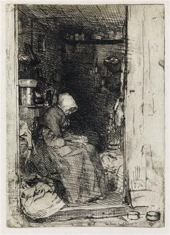 JAMES A. M. WHISTLER La Vieille aux Loques.