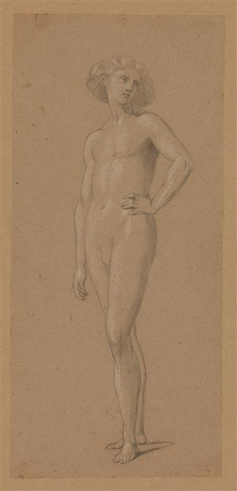 ENGLISH SCHOOL, 19TH CENTURY Two drawings.