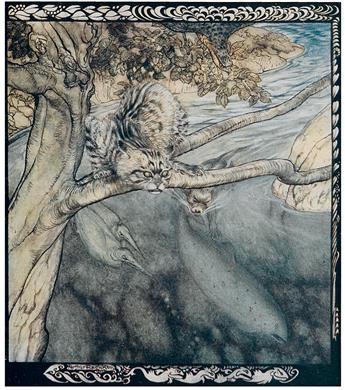 STEPHENS, JAMES. ARTHUR RACKHAM.  Irish Fairy Tales.