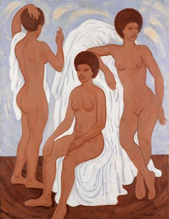 ZELL INGRAM (1910 - 1971) Untitled (Three Nudes).