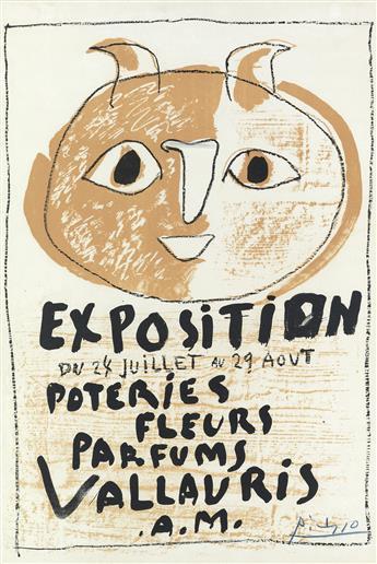 PABLO PICASSO Troisième Affiche Vallauris.