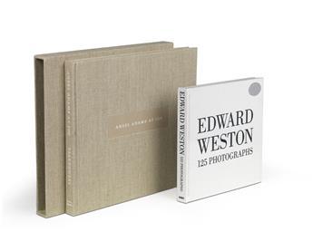 ANSEL ADAMS & EDWARD WESTON. Ansel Adams at 100 * Edward Weston, 125 Photographs.