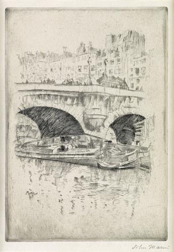 JOHN MARIN Pont Neuf, Paris.