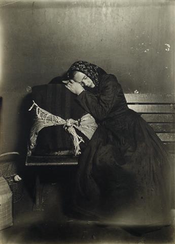 LEWIS W. HINE (1874-1940) Slavic immigrant at Ellis Island.