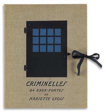 MARIETTE LYDIS (1887-1970)  Criminelles.