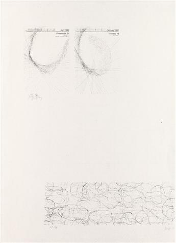 JOSEPH BEUYS and JOHN CAGE Untitled (Calendar)