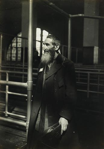 LEWIS W. HINE (1874-1940) Patriarch at Ellis Island.
