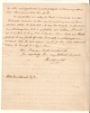 American Revolution. SCHUYLER, PHILIP. Autograph Letter Signed,