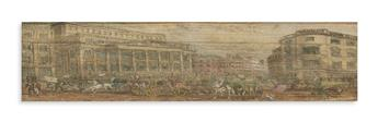 (FORE-EDGE PAINTING.) Cowper, William. Poems.