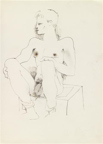 JEAN COCTEAU (1889-1963)  Original sketchbook. Le Mystère et Antigone [cover title].