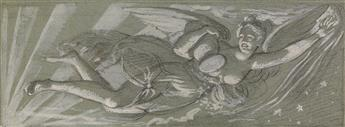 PIERRE-PAUL PRUDHON (CIRCLE OF) (Abbaye de Cluny 1758-1823 Paris) Aurora.