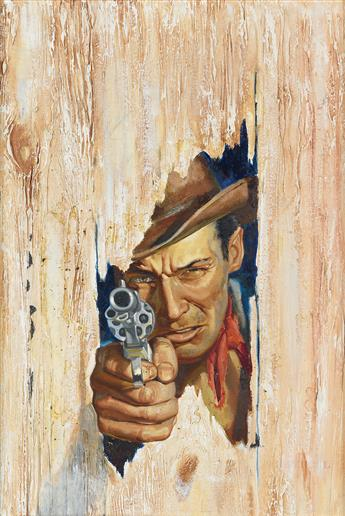 (PULP / WESTERN) MORTON ENGLE. The most dangerous man that ever rode into Tombstone.