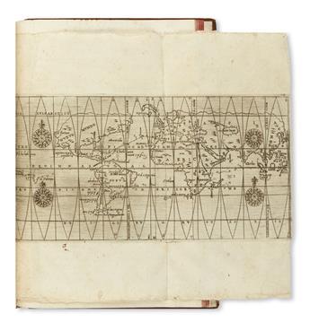 (WEST INDIES.) García de Céspedes, Andrés. Regimiento de navegacion que mando hazer el Rei Nuestro Señor