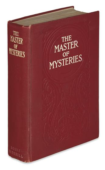 [BURGESS, GELETT.] The Master of Mysteries.