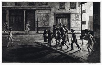MARTIN LEWIS Bedford Street Gang.