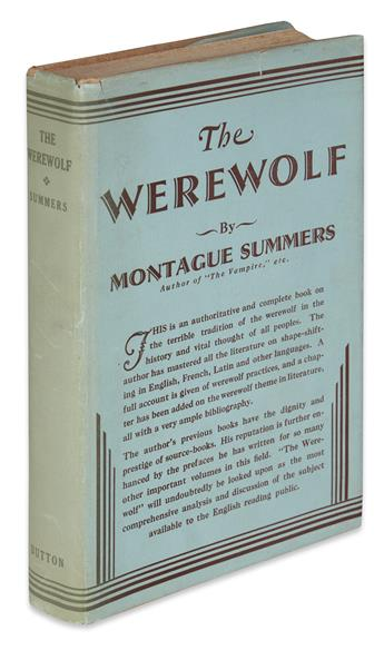 SUMMERS, MONTAGUE. The Werewolf.