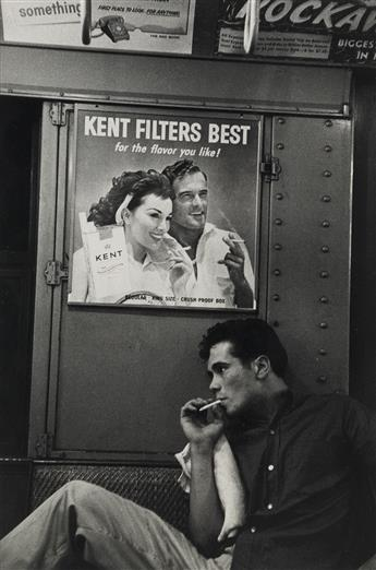 BRUCE DAVIDSON (1933- ) Kent Filters, Brooklyn Gang.