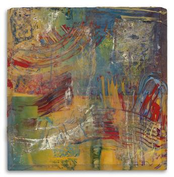 SAM GILLIAM (1933 -   ) Richer Scene.