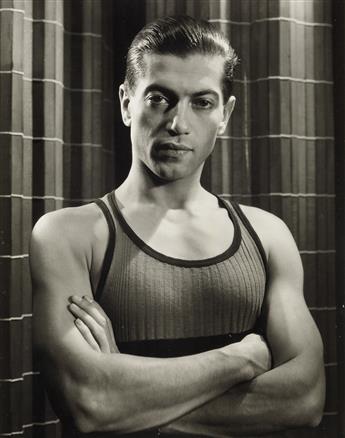 GEORGE PLATT LYNES (1907-1955)  Serge Lifar.