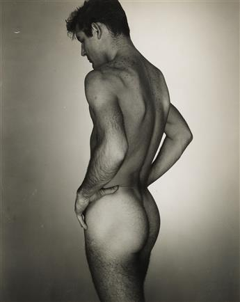 GEORGE PLATT LYNES (1907-1955) Male nude study * George Tichenor (G.P.L.s Destroyer).