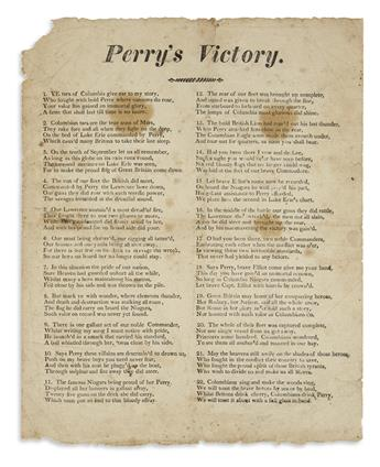 (WAR OF 1812.) Perrys Victory.