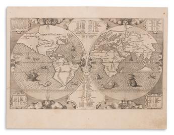 ARIAS, MONTANUS BENEDICTUS. Sacrae Geographiae Tabulam ex Antiquissimorum Cultor.