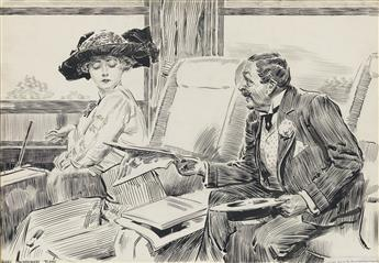 JAMES MONTGOMERY FLAGG. Sir! I am a married woman!