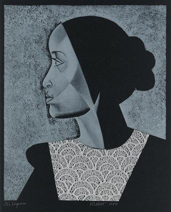 ELIZABETH CATLETT (1915 - 2012) Virginia.