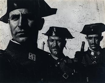 W. EUGENE SMITH (1918-1978) Guardia Civil, Spain.