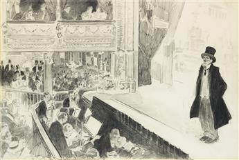 CHARLES DANA GIBSON. At the Pavilion.
