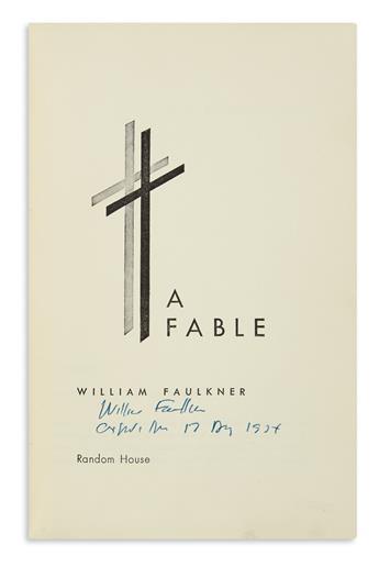 FAULKNER, WILLIAM. A Fable.