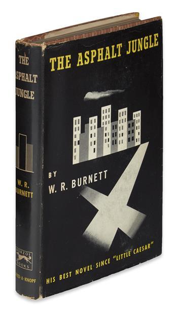 BURNETT, W.R. The Asphalt Jungle.