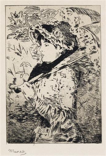 ÉDOUARD MANET Jeanne (Le Printemps).