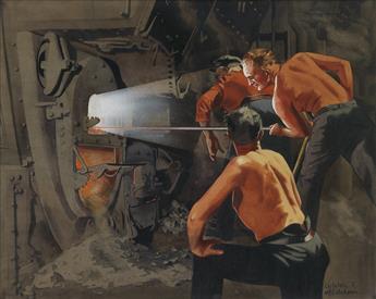 CARLETON McCUTCHEON. Boiler Room.