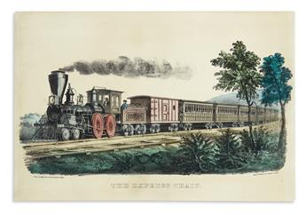 CURRIER & IVES. The Express Train.