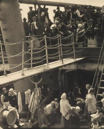 STIEGLITZ, ALFRED (1864-1946) The Steerage, from Camera Work, Number 36.