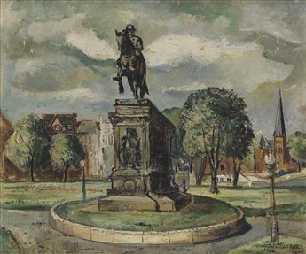 JOHN FARRAR (1928 - 1972) Untitled (Washington Circle).