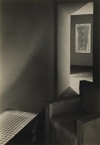 MAN RAY (1890-1976) Study of an interior.