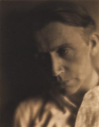 WESTON, EDWARD (1886-1958) Portrait of the photographer Johann Hagemeyer.