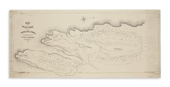 (CONNECTICUT.) Pierson, S.C. Map of West Peak and Percival Park, the Property of Henry N. Johnson, at Meriden CT.