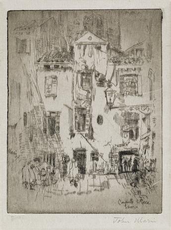 JOHN MARIN Campiello S. Rocco, Venice.