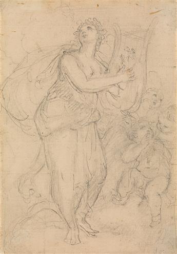 ÉTIENNE MAURICE FALCONET (Paris 1716-1791 Paris) Terpsichore.
