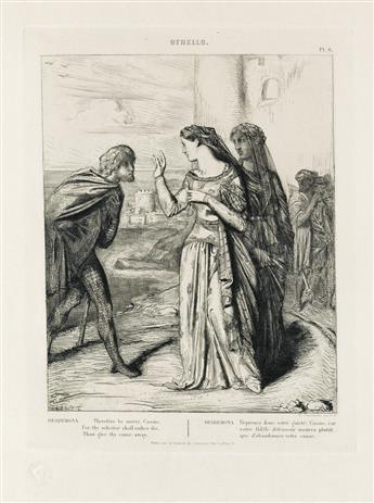 THÉODORE CHASSÉRIAU Othello.