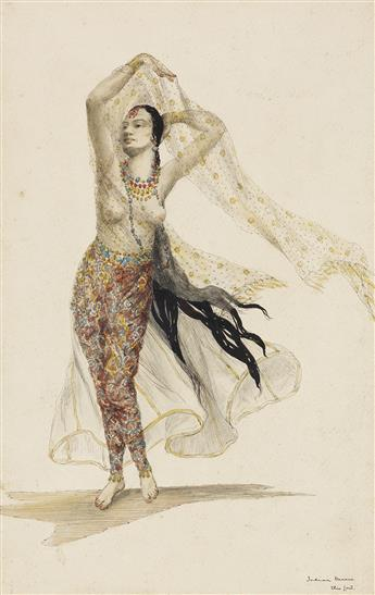 ELYSE ASHE LORD. Indian Dancer.
