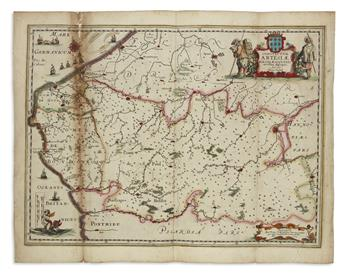 VERBIEST, PIETER. Comitatuum Artesiae Boloniae et Guines Novissima Descriptio.
