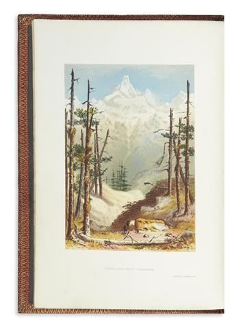 [MAZUCHELLI, NINA ELIZABETH], A Lady Pioneer. The Indian Alps and How We Crossed Them.