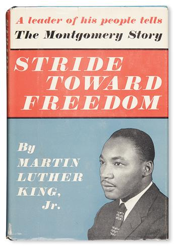 (CIVIL RIGHTS.) KING, MARTIN LUTHER JR. Stride Toward Freedom.