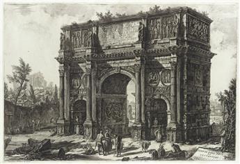 GIOVANNI B. PIRANESI Veduta dell'Arco di Constantino.